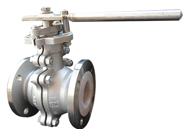 PTFE-LINED-BALL-VALVE
