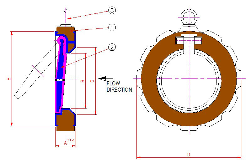 CROSS-SECTION-ACTUATED-LINED-FLUSH-BOTTOM-VALVE
