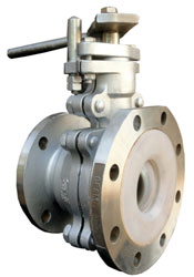 LINED-MANUAL-FLUSH-BOTTOM-BALL-VALVE