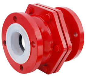 PTFE-PFA-LINED-BALL-CHECK-VALVE
